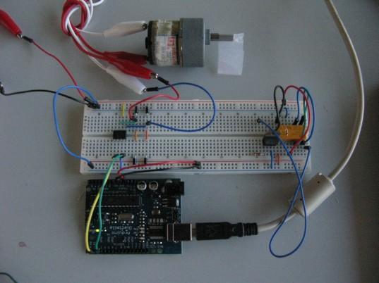 DC motor Circuits with H-Bridge & Relay Circuit