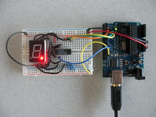 74HC4051N & Arduino