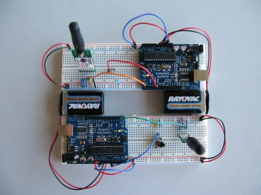 Linx 433 MHZ Transmitter & Receiver