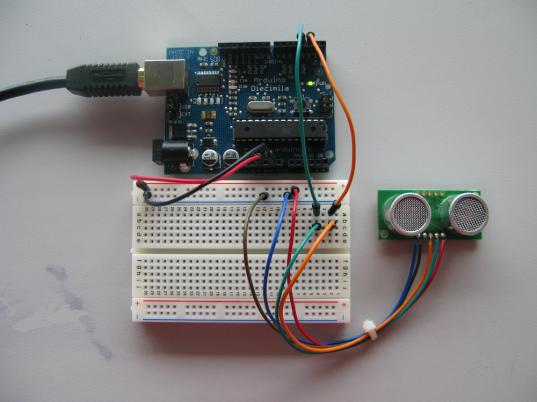 SRF05 & Arduino